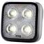Knog Blinder MOB Four Eyes Fietsverlichting witte LED zwart